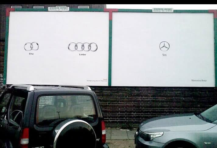 Bmw Vs Audi Advertising