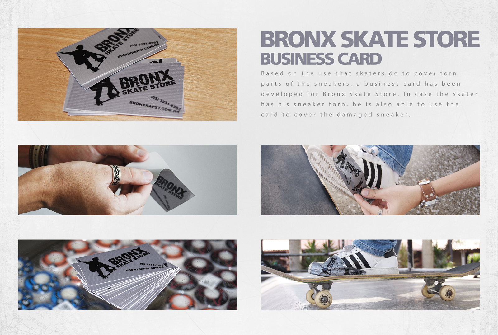 Bronx Skate Store: Business card | AdPitch Blog