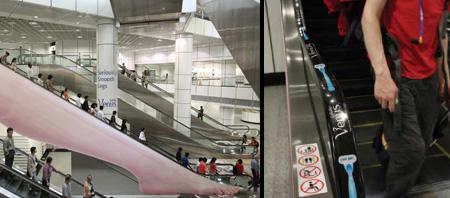 gillette escalator advert