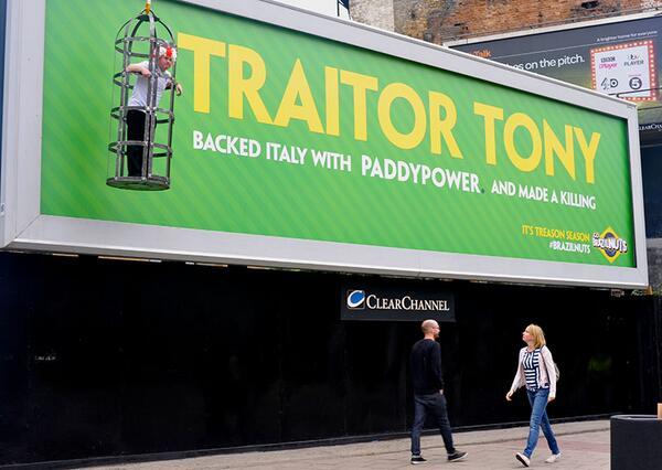 paddy power tony traitor
