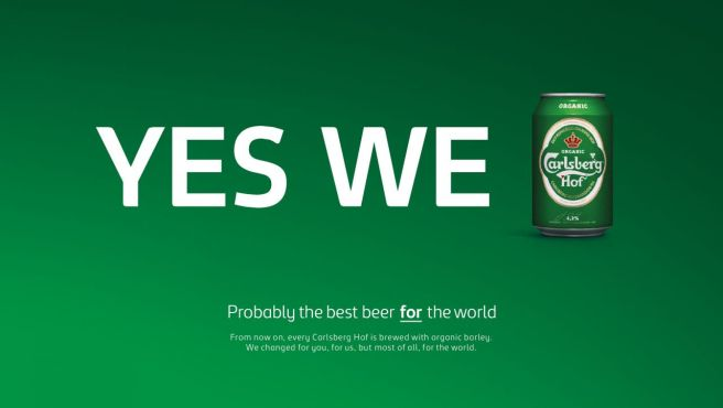 Carlsberg yes we can